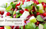 pear pomegranate salad, recipe, passages malibu