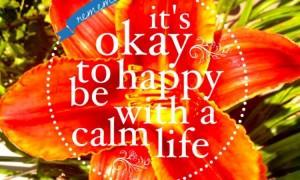 calm life- passages
