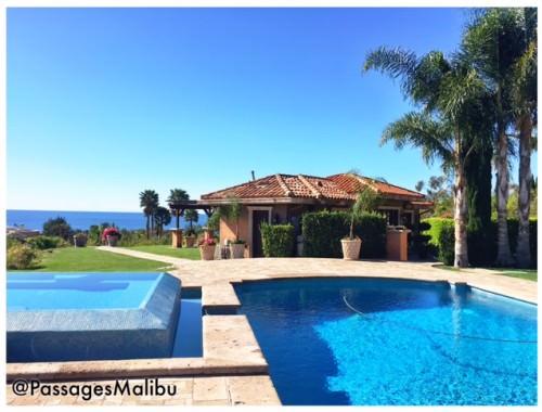 Pool at Passages Malibu
