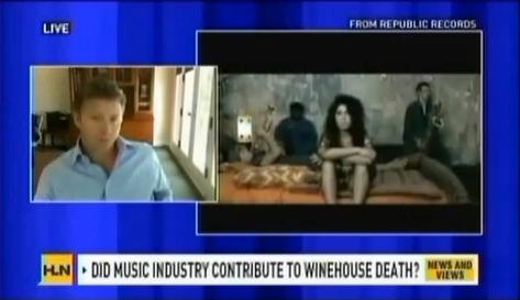 CNN Headline News Amy Winehouse Addiction with Pax Prentiss