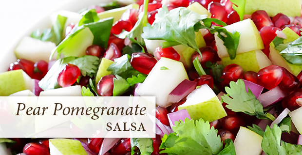pear pomegranate salad, recipe, passages malibu