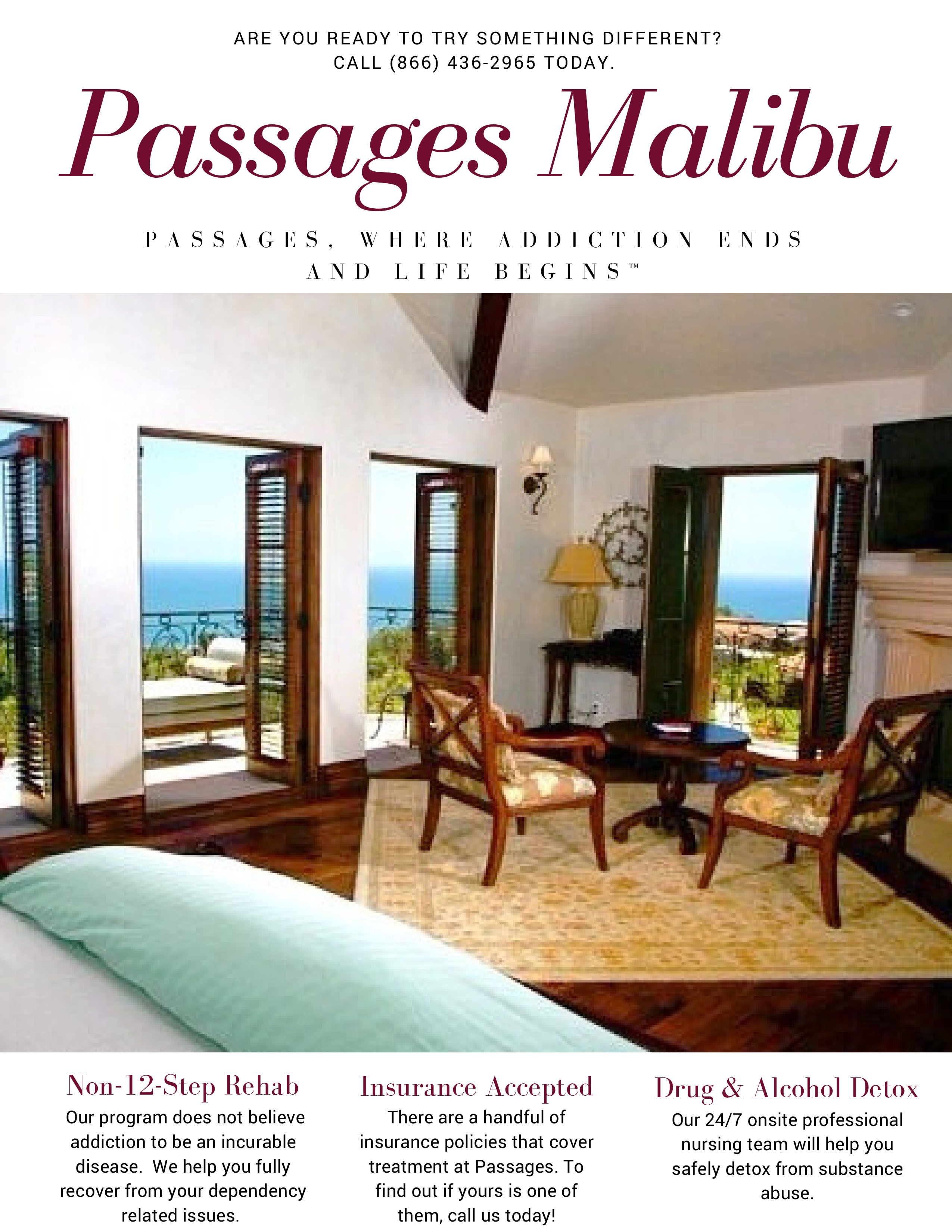 How to prepare for inpatient rehab passages reflections blog for Passages malibu