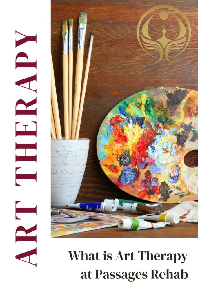 What is Art Therapy at Passages Rehab